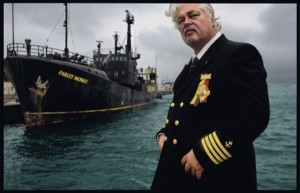 Sea Shepherd Captain Paul Watson. Photograph from 2007 by James Nachtwey/VII.