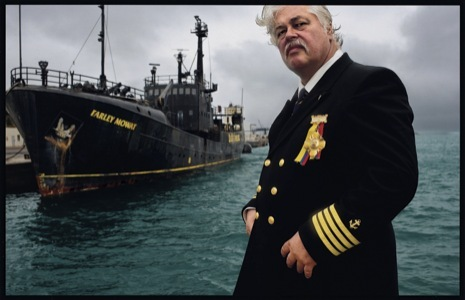 Sea Shepherd Captain Paul Watson. Photograph from 2007 by James Nachtwey/VII.