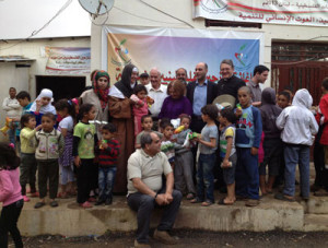 Al-khalil Palestinian refugee camp in Baalbak, Lebanon