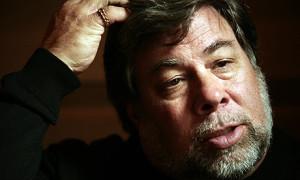 Steve Wozniak: 'a little bit guilty'. Photograph: Martin Argles/Guardian