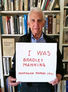 Daniel Ellsberg released the Pentagon Papers in 1971