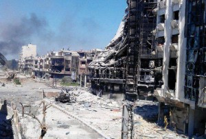 The New Homs - After Terrorist Foreign Mercenaries Invaded It (supported by USA/Al Qaida)