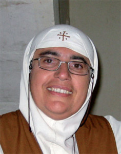 Mother Agnes Mariam de  la Croix, author of the controversial ISTEAMS Report