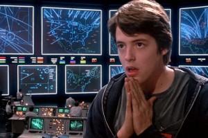 "Matthew Broderick in ""War Games"""