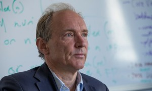 Tim Berners-Lee: 'Based on recent revelations it seems the system of checks and balances [on spy agencies] has failed.' Photograph: Rick Friedman for the Guardian
