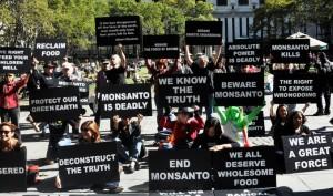 Anti-GMO protesters in New York. (Michael Fleshman / Flickr)