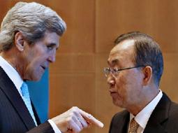 Peace-making body language?