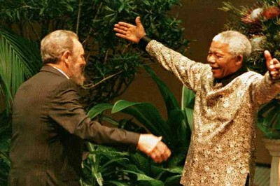 Fidel Castro and Nelson Mandela, loyal friends to the end.