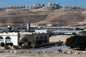 Mishor Adumim, created in 1976, now has 250 businesses that are a short drive from Jerusalem. Rina Castelnuovo for The New York Times