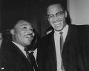 luther king & malcolm x