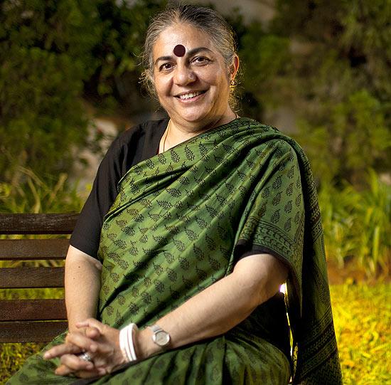 Vandana Shiva, vocile femeilor