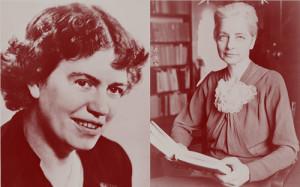 Margaret Mead & Ruth Benedict