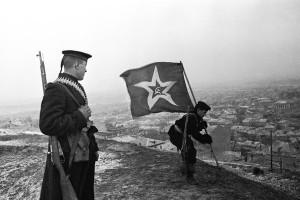 Soviet troops in Kerch, in Crimea, on Dec. 1, 1941. Credit Yevgeny Khaldei, via Corbis