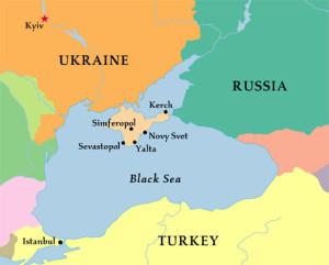 crimeia mapa