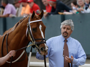 The trainer Steve Asmussen ranks second in career victories, with more than 6,700.  Credit Danny Johnston/Associated Press