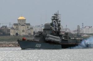 Sevastopol was established by Russian Empress Catherine II as a port for the Russian Black Sea fleet [EPA]