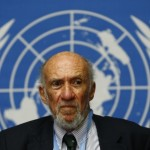Richard Falk. Reuters