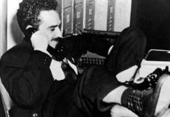 Gabriel Garcia 'Gabo' Marquez at El Heraldo
