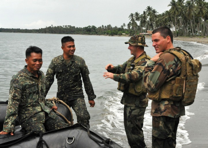 The Obama administration is negotiating a deal with the Philippines that would essentially give the U.S. free use of Philippine military installations, narrowly skirting a Philippine ban on foreign bases in the country. (Photo: U.S. Pacific Command / Flickr)