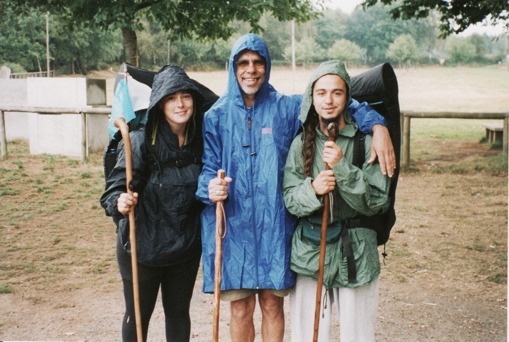 14- 30Set Palas del Rei, Paula e Blas, chovendo