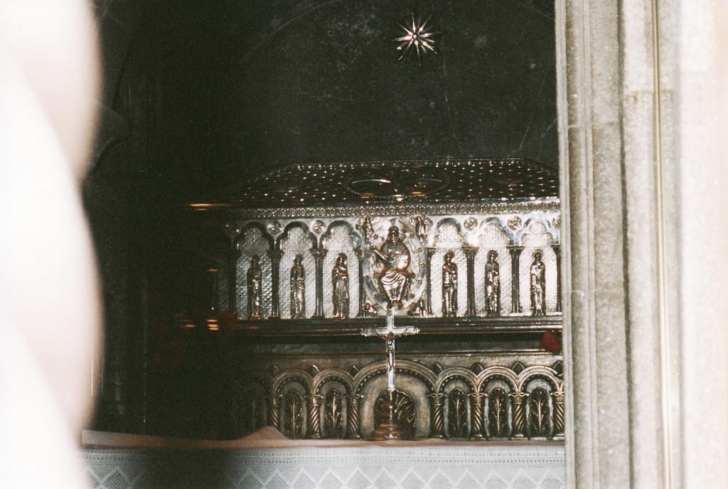 Tomb of Santiago-St. James in Cathedral Santiago de Compostela