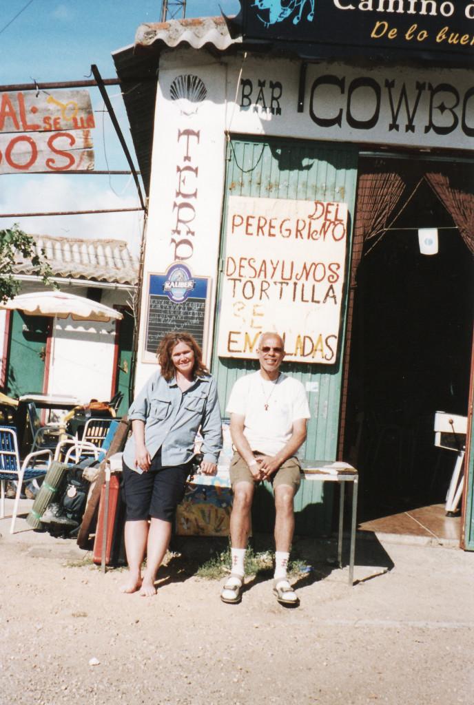 6- 22Set Entre Astorga e Rabanal del Camino, Lisa-Australia