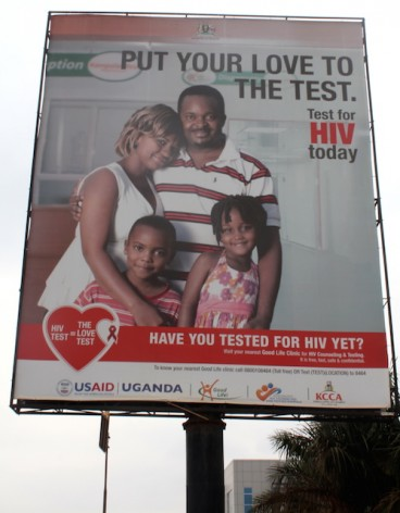 Uganda has been hailed as a success story in fighting HIV/AIDS, with prevalence rates dropping from 18 percent in 1992 to 6.4 percent in 2005. But activists fear a new HIV Bill will lead to lead to people shunning testing and treatment. Credit: Amy Fallon/IPS