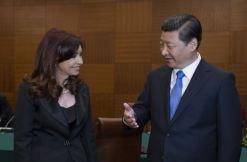 La présidente argentine Cristina Fernandez et le Président chinos Xi Jinping.