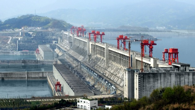 The Three Gorges Dam in China. Photo: Shutterstock