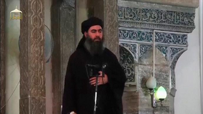 Abu Bakr al-Baghdadi.(Reuters / Social Media Website)