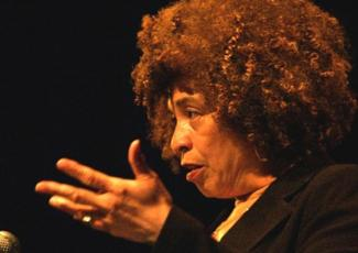 Angela Davis in 2006. Image by Nick Wiebe.