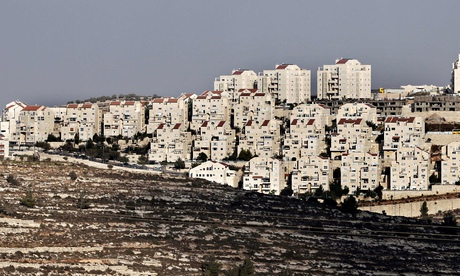 West Bank settlement of Efrat. Israel plans to expropriate 400 hectares of land between Bethlehem and Hebron. Photograph: Ahmad Gharabli/AFP/Getty Images