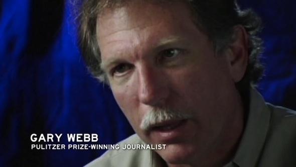 Screen shot of journalist Gary Webb from Vimeo.