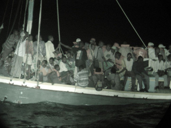 Haitian migrants attempt to reach the United States by boat. (Photo: Wikimedia Commons)