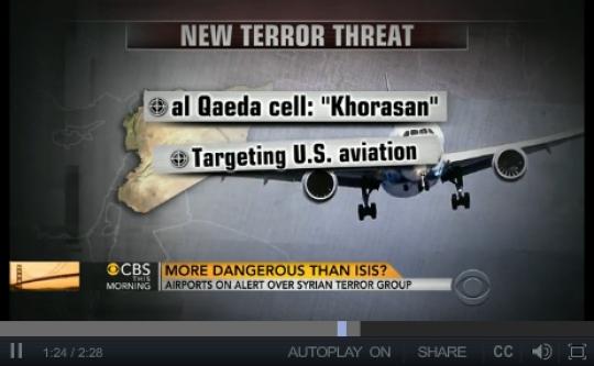 khorasan fake threat