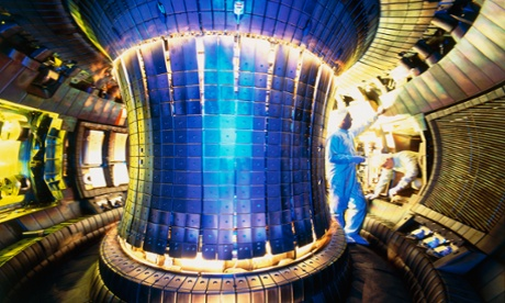An experimental fusion reactor in Munich. Lockheed says its version will fit on the back of a truck. Photograph: Peter Ginter/Peter Ginter/Science Faction/Corbis
