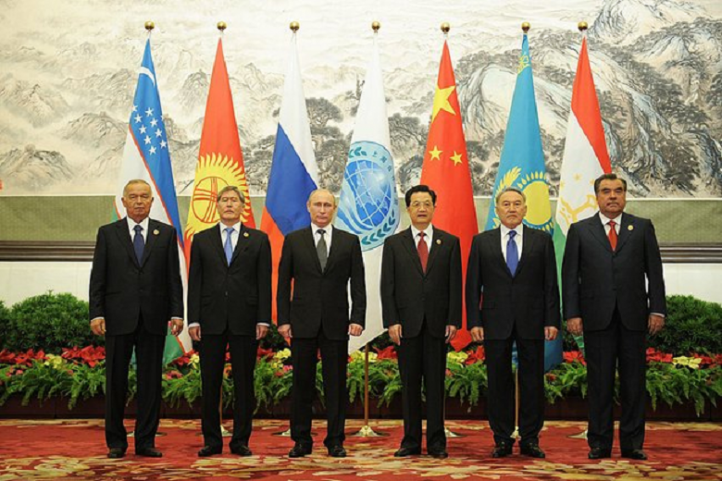 Leaders of the Shanghai Cooperation Organization, 2012. (Photo: Wikipedia)