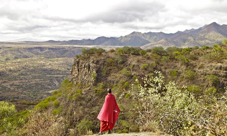 The Tanzanian government has been accused of going back on a deal not to sell Maasai land bordering the Serengeti national park. Photograph: Alamy