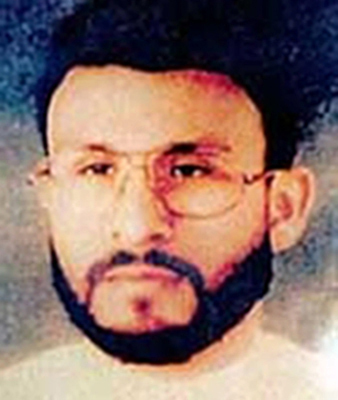 Abu Zubaydah. (AP Photo/U.S. Central Command, File)