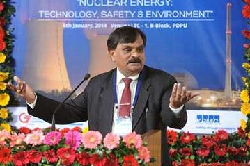 Swapnesh Kumar Malhotra of India's Department of Atomic Energy. Photo courtesy Vibrant Gujarat