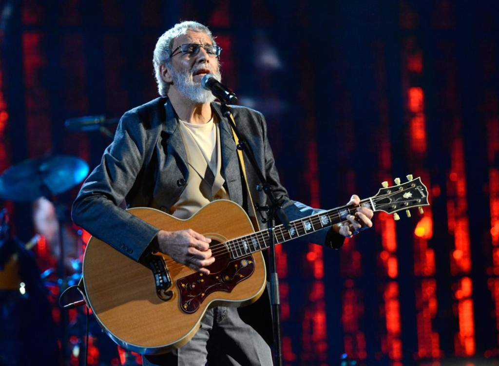 Yusuf Islam at the Rock And Roll Hall Of Fame Induction Ceremony in April. Kevin Mazur/WireImage