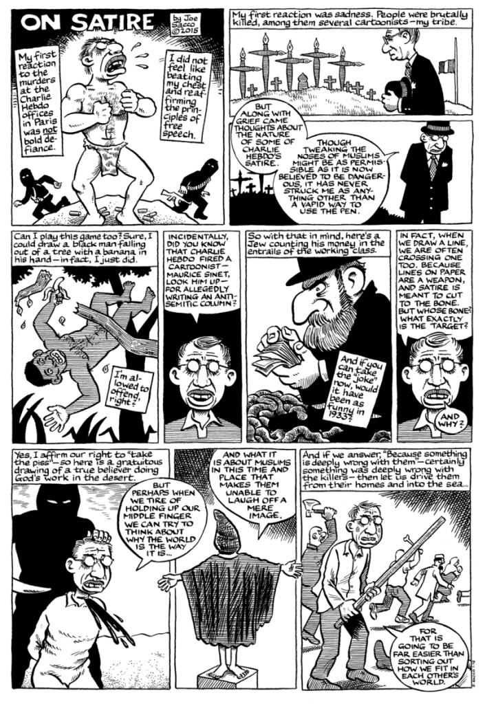 charlie cartoon antisemit islamophobe speech5