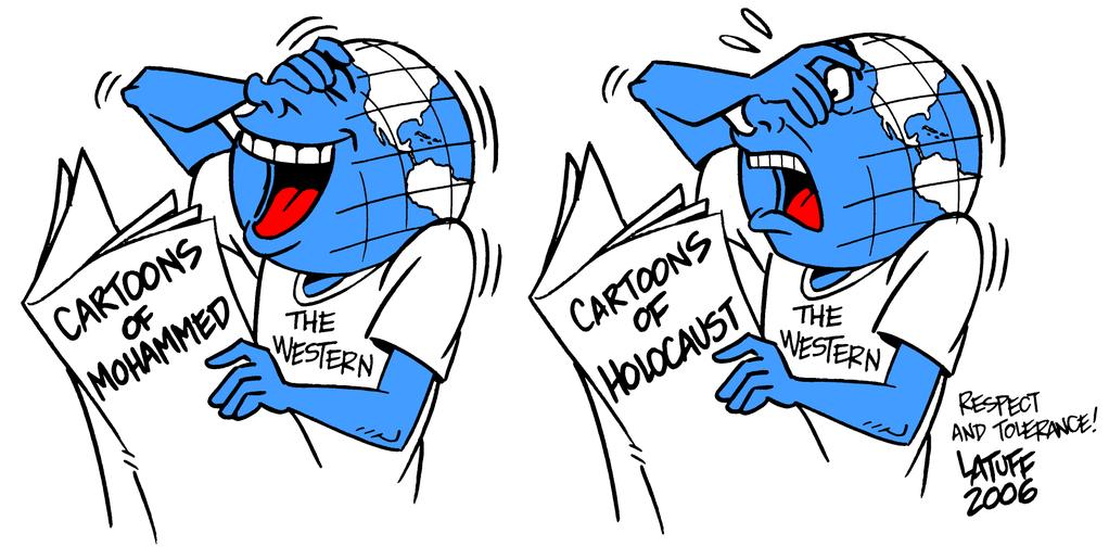 charlie cartoon antisemit islamophobe speech8