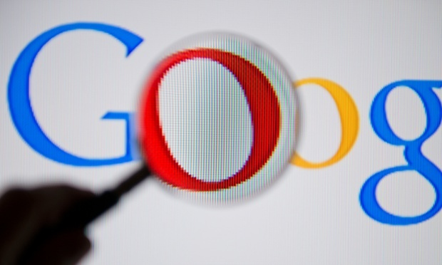 Google told WikiLeaks it had been unable to say anything about the Justice Department warrants as a gag order had been imposed. Photograph: Michael Gottschalk/Getty Images