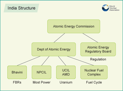 india_structure nuclear energy