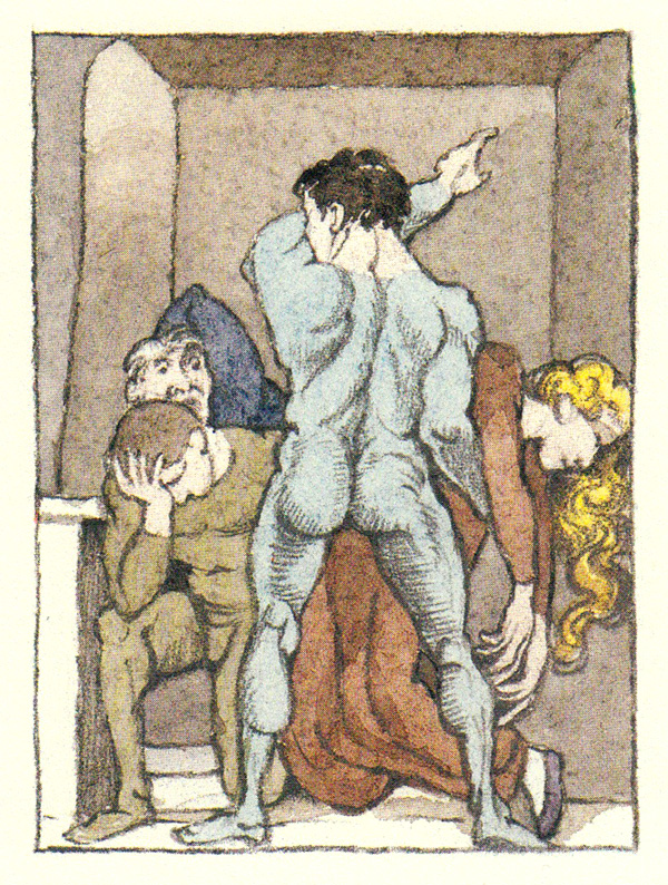 Illustration for Herman Melville's 'Pierre' by Maurice Sendak. Click image for more.
