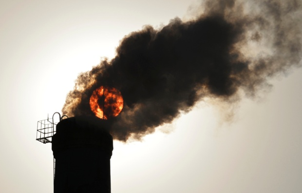 Neoliberals have rushed in with quasi-market responses to climate change, such as emissions trading schemes. Photograph: Jon Woo/Reuters