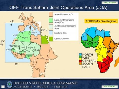 AFRICOM map