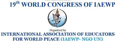International Association of Educators for World Peace(IAEWP) logo2