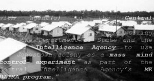 Jonestown Guyana. Read more about it in Jonestown Massacre: The 9/11 of the War on Alternative Spirituality